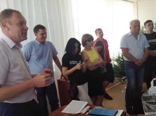Наглядова рада НСТУ схвально відгукнулася про роботу Луганської філії суспільного мовлення у Сєверодонецьку