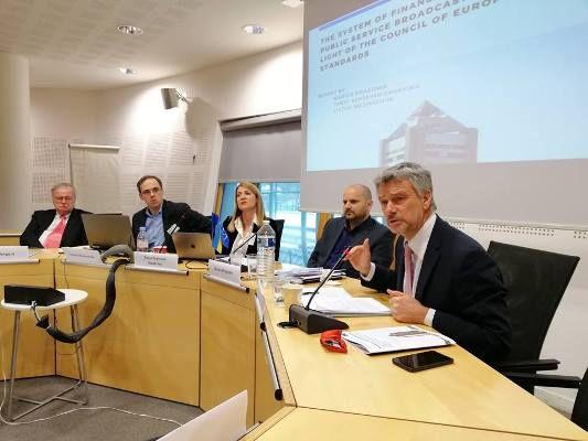 Експерти Ради Європи назвали у Страсбурзі оптимальний спосіб вирішення проблеми фінансування НСТУ
