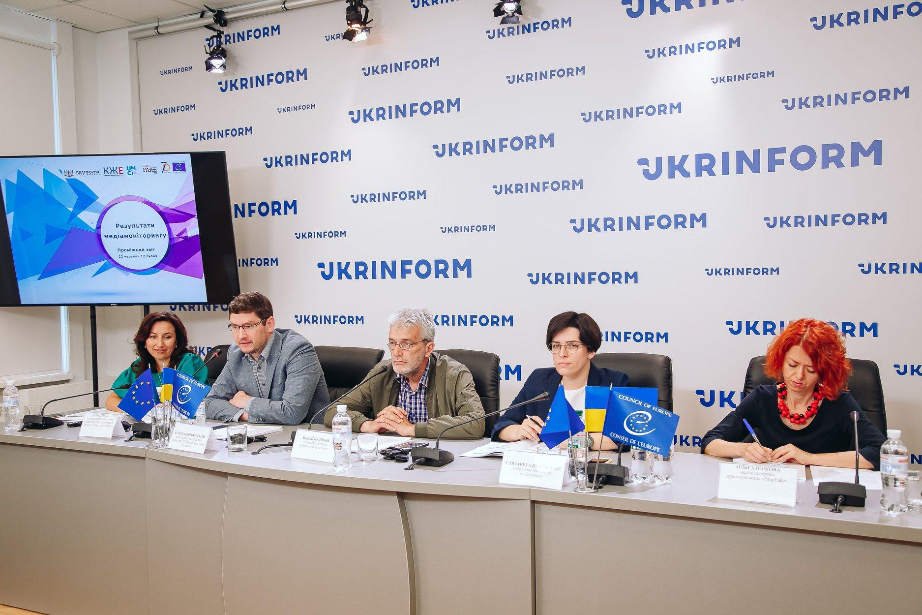 «UA:Перший» став єдиним каналом без джинси в новинах – моніторинг Ради Європи