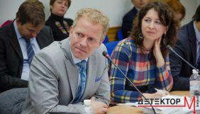 Наглядова рада НСТУ присудила відзнаку за внесок у розбудову Суспільного мовлення Мортену Енбергу