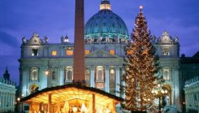 «UA: Перший», «UA: Культура» та філії НСТУ наживо покажуть Різдвяні богослужіння з Ватикану
