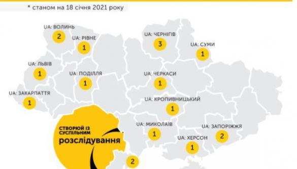 18 проєктів розслідувань пройшли пітчинги у регіональних філіях Суспільного