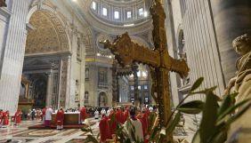 Три канали Суспільного мовлення покажують Великодні богослужіння з Ватикану
