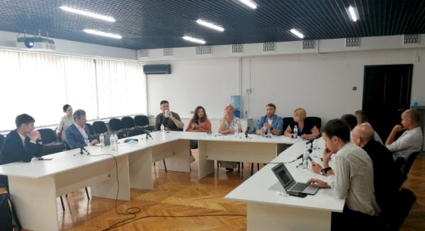 Ірину Геращенко познайомили з роботою і планами Суспільного