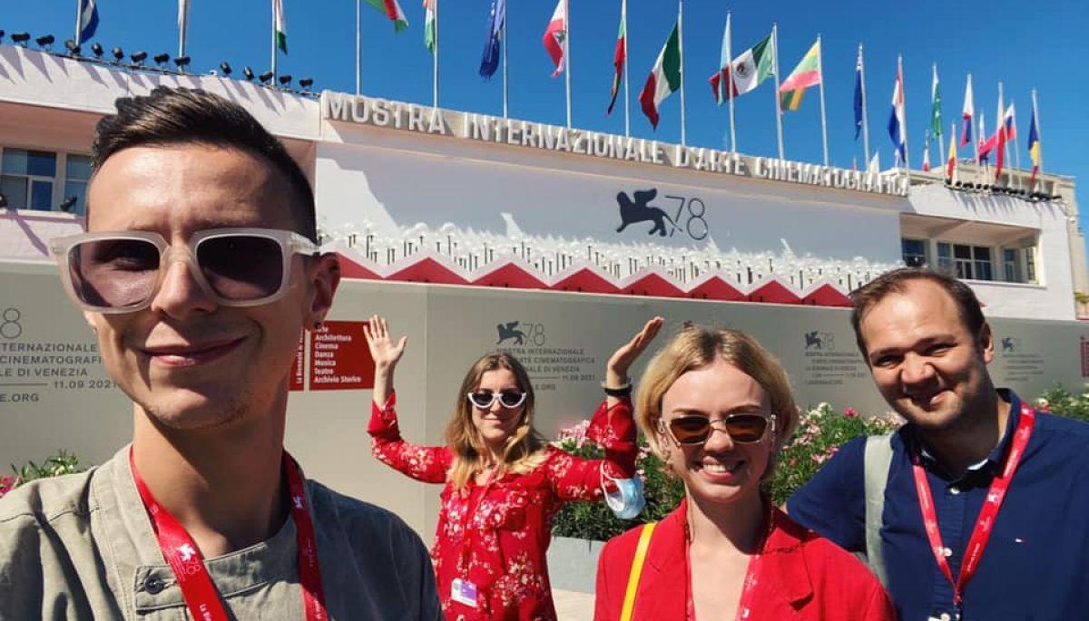 Команда телеканалу «UA: Культура» поїхала у відрядження на Венеційський кінофестиваль