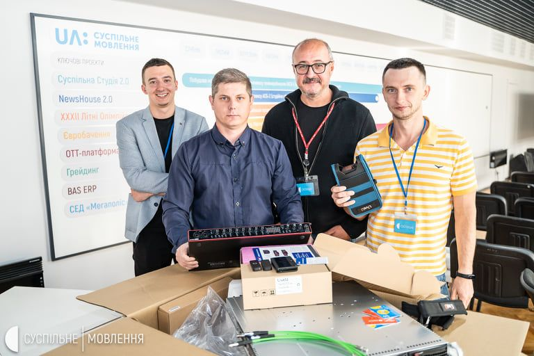 Дніпровська філія Суспільного отримала техніку для виїзних прямих трансляцій